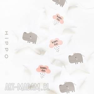 handmade pokoik dziecka hippo - girlanda hipopotam