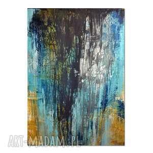 spilled ink, abstrakcja, obraz ręcznie malowany, obraz, nowoczesne