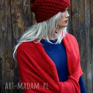 czapka handmade nr 25, zimowa, wełniana czapka, zimowa ciepła
