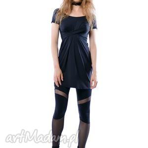 cristina mini hypnotic black summer, sukienka, jersey, mini