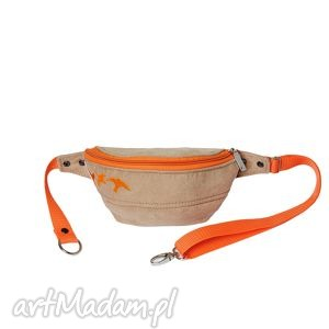Nerka orange bird, rekodzielo, modna, wygodna, pojemna, na-wycieczkę, na-rower