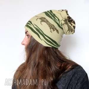 ręcznie robione czapki czapka damska wełniana afrykańska