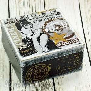shiraja szkatułka - audrey, kino, film, gwiazda, aktorka, pudełko