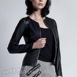 lanti urban fashion żakiet, za105 eco-skóra, żakiecik, kurtka, skóra