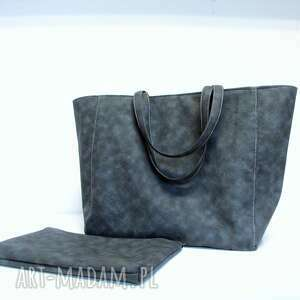 prezent na święta, smart bag, pojemna, must have, smart, szara, modna