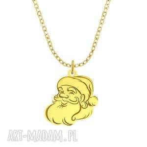 celebrate - santa claus - necklace g - ,mikołaj,święta,