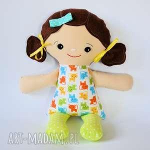 Cukierkowa lala - Daniela 40 cm, lalka, kotek, cukierkowa, bezpieczna, kolorowa