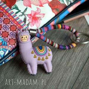 Brelok do kluczy boho lama ethnicas breloki beezoo kluczy, styl