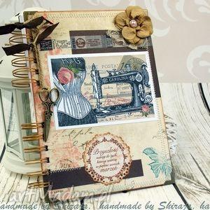 notatnik krawiecki, notatnik, krawcowej, notes, zapiski