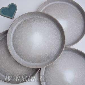 ręcznie wykonane ceramika talerze ceramiczne deserowe