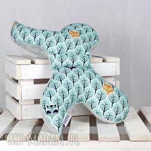 motylek- poduszka antywstrząsowa las - antywstrząsowa, poduszka, niemowlak