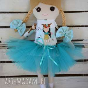 handmade lalki szmacianka, szmaciana lalka w tutu