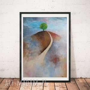 obraz olejny drzewo format 50/40