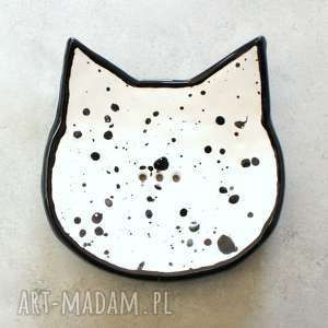 Kot - mydelniczka, łazienka, mydło, kot, zwierzęta, ceramika