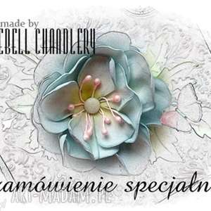 bluebell chandlery zamówienie specjalne dla pani moniki - zaproszenie