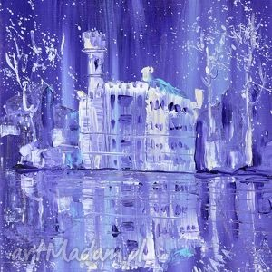 marina czajkowska zamek w karpnikach mały , 4mara, marinaczajkowska, obraz, prezent