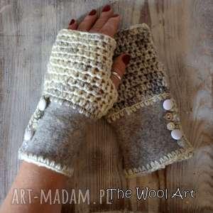 Prezent rękawiczki mitenki, rękawiczki, naręce, prezent