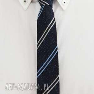 Krawat slim #29, jedwab, dodatki