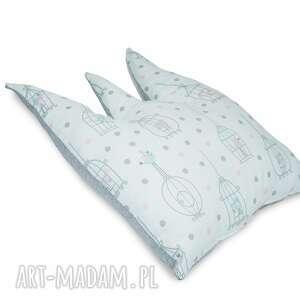 poduszka korona fairytale birds - poduszka, turystyczna, do, wózka, popielewska, style