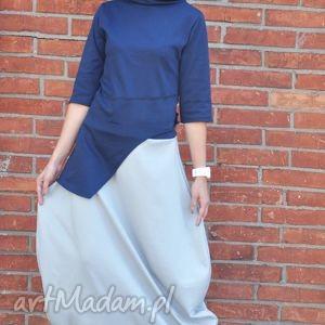 duo-form-komplet - spódnica, maxi, bluzka, komplet, bawełniany, wygodny
