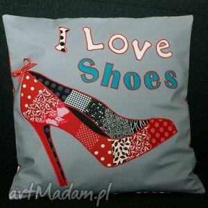 poduszki i love shoes dla miłośniczki butów, prezent, buty, szpilki, shoes