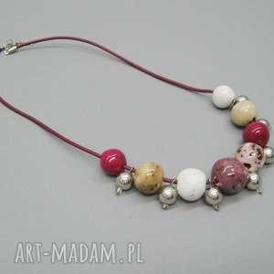 naszyjnik z nutą orientu - naszyjnik, biżuteria, prezent, kobiecy, orientalny