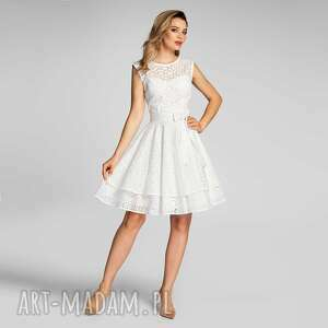 sukienka cyntia mini colette, mini, bawełna, na lato