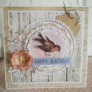 Prezent Kartka urodzinowa, kartka, urodziny, kartki