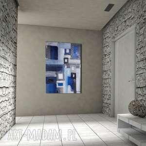 prezent na święta, abstra-akt 1, abstrakcja, struktura, alexandra13art, akryl