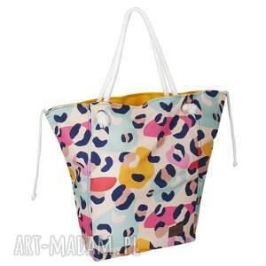 ręcznie wykonane torebki duża torba wiosenna, pojemna letnia torebka na plażę