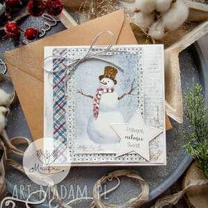 ręcznie zrobione pomysł na upominki magiczna kartka święta bożego narodzenia