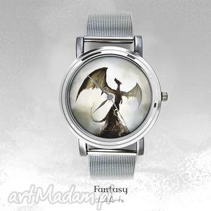 zegarek, bransoletka - smok cienia shadow dragon fantasy watch