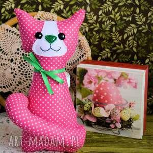 ręcznie robione maskotki kotek torebkowy - kinia 25