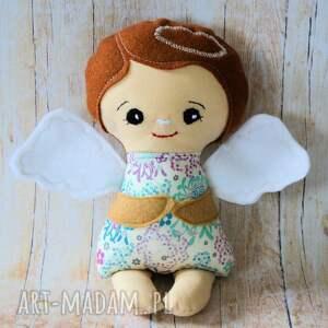 Aniołek modlący - Ola 24 cm, lalka, dziewczynka, anioł, chrzest, komunia, roczek