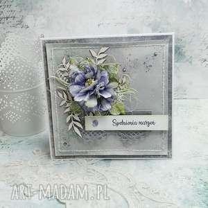 ręcznie zrobione scrapbooking kartki spełnienia marzeń - kartka