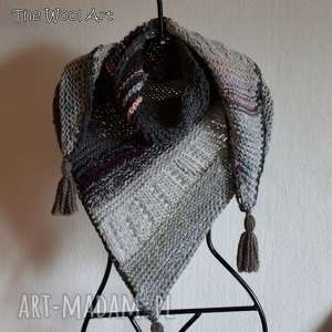 handmade chustki i apaszki asymetryczna chusta