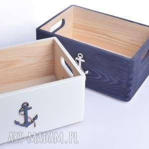 ręczne wykonanie pudełka do przechowywania nautical komplet