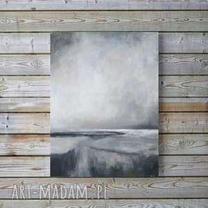 ABSTRAKCJA-obraz akrylowy formatu 40/50 cm, abstrakcja, akryl, obraz,