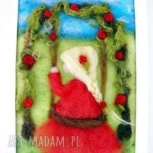 różany ogród obraz z kolekcji die wunderschöne kindheit