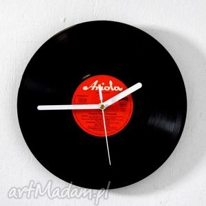 zegar vinyl clock, vintage, zegar, retro, dom, prezent, płyta