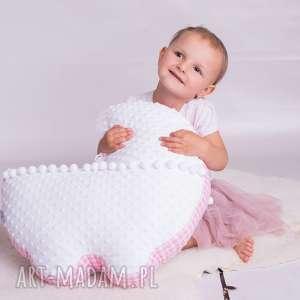 pokoik dziecka poduszka dziecięca wózek, wyprawka, dla malucha, minky