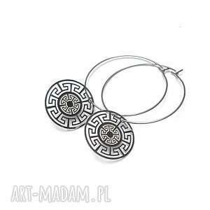 alloys collection /silver rosette/ vol 3, stal, szlachetna, koła, rozety, ażur