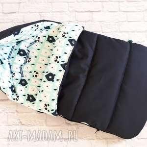 hand-made pokoik dziecka zimowy wodoodporny śpiworek do wózka
