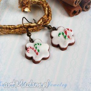 theresa ursulas jewelry świąteczne kolczyki pierniczki ciastka na prezent