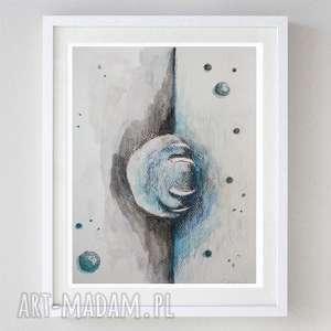 łapa - akwarela,abstrakcja formatu 18/24 cm, akwarela, abstrakcja, papier