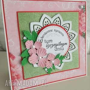 Prezent Kartka urodzinowa/imieninowa, kartka, urodziny, imieniny, życzenia, prezent