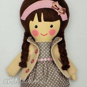 MALOWANA LALA MAGDALENA, lalak, zabawka, przytulanka, prezent, niespodzianka, dziecko