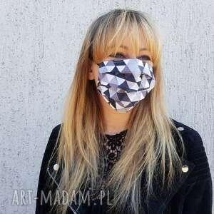 maseczka unisex męska ochronna bawełna kosmetyczna wielorazowa street wear
