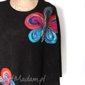 poncho tunika i kwiat magicznego ogrodnika , motyl