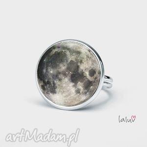 unikalny, pierścionek moon, księżyc, kosmos, noc, zaćmienie, grafika, gwiazdy